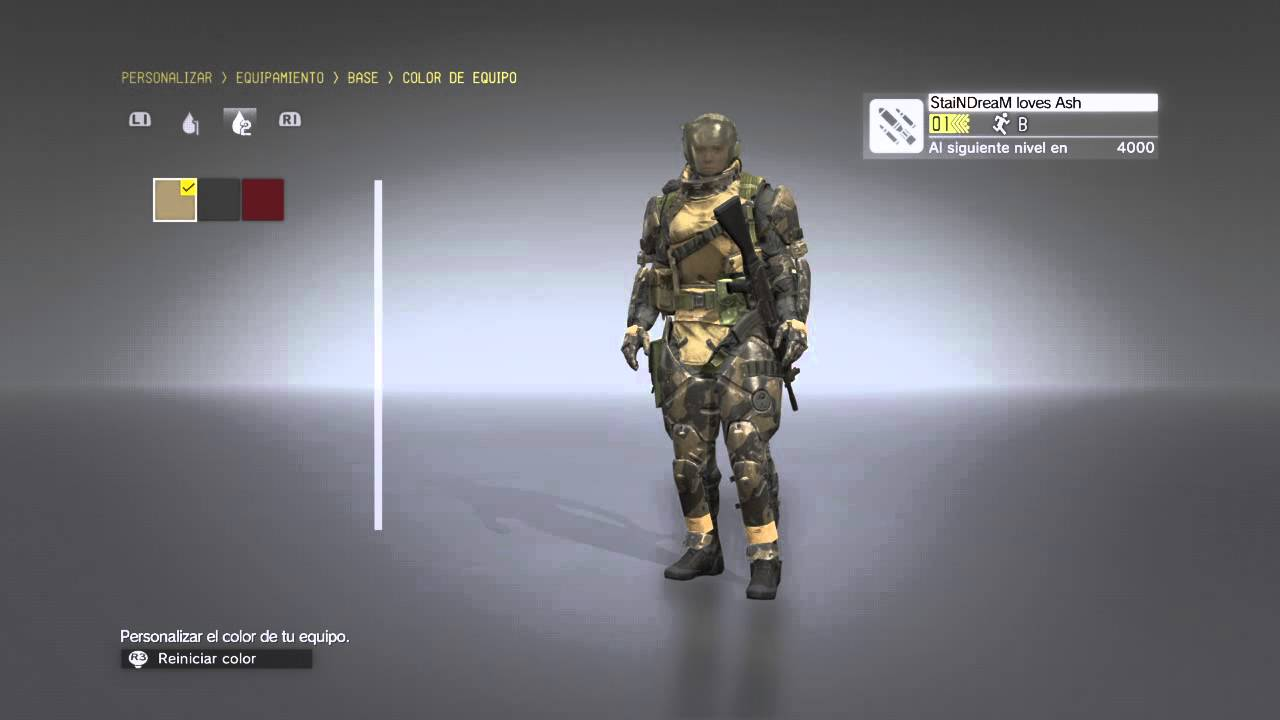 Mgsv how to get headgear for snake