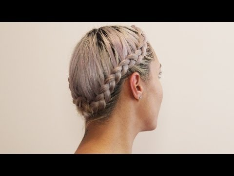 french crown braid instructions